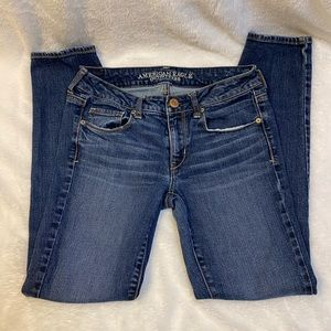 American Eagle skinny stretch jeans size 6 S